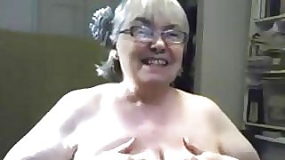 Huge Granny With Hefty Bent