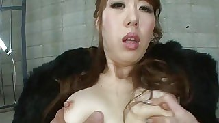 Fat nipple Asian slut..